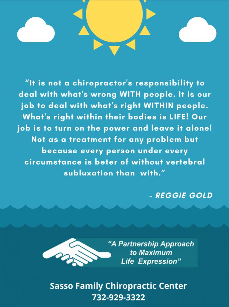 Reggie Gold Quote